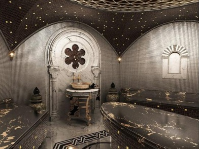 турецкий дизайн интерьера сауны