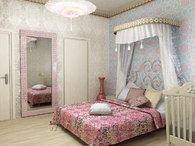 турецкий дизайн интерьера спальни