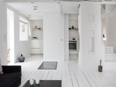датский дизайн интерьера на кухне