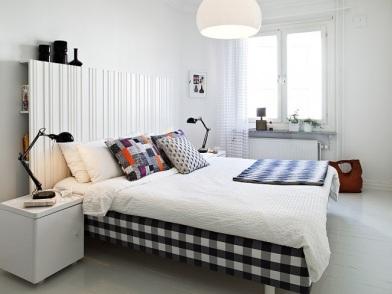 светлый датский дизайн интерьера