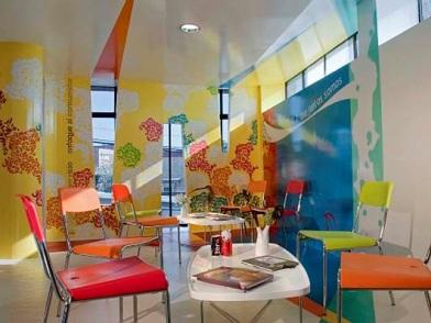Дизайна интерьера детского центра комната для рисования
