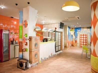 Дизайна интерьера детского центра зона питания