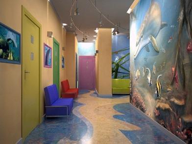 Дизайна интерьера детского центра прихожая