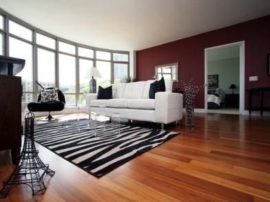 Дизайн интерьера в стиле ар деко в цвете бардо