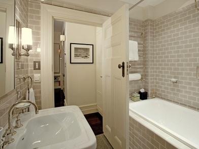 Дизайн интерьера в стиле ар деко в ванной комнате