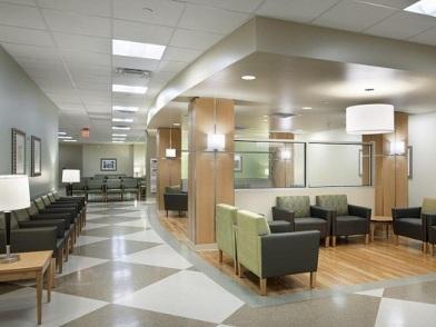 Дизайн интерьера медицинского центра холл