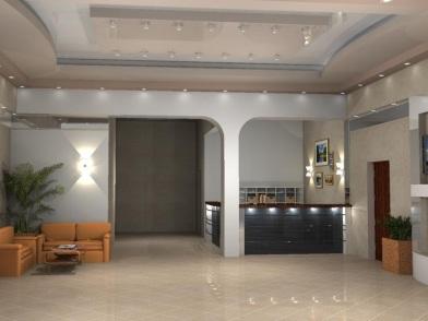 Дизайн интерьера медицинского центра в стиле хай тек