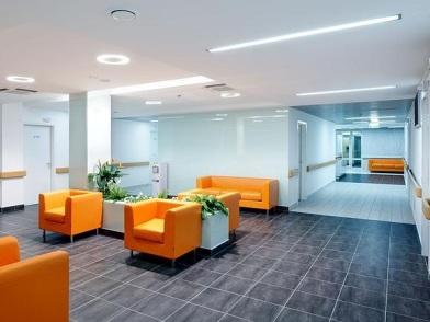 Дизайн интерьера медицинского центра в стиле эклектика