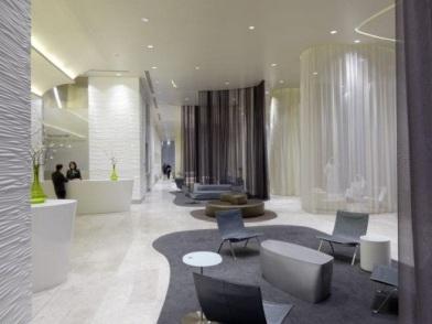 Дизайн интерьера медицинского центра в стиле фьюжн