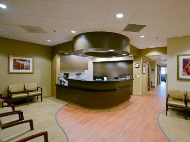 Дизайн интерьера медицинского центра в стиле прованс