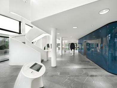 зарубежный дизайн интерьера медицинского центра