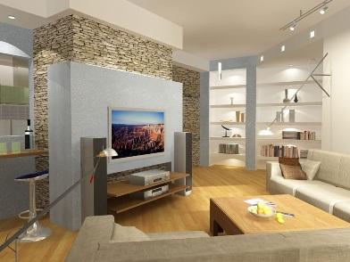 Дизайн интерьера квартиры в новостройке в современном стиле