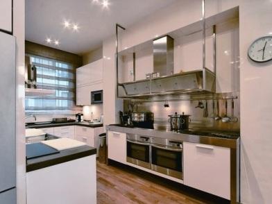 Дизайн интерьера квартиры в новостройке на кухне