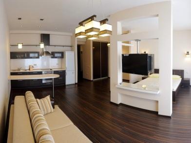 Дизайн интерьера квартиры в новостройке студии