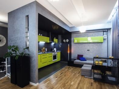 Дизайн интерьера квартиры в новостройке стиль хай тек