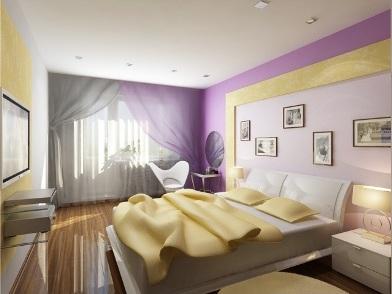 Дизайн интерьера квартиры в новостройке спальни