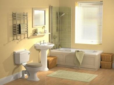 Дизайн интерьера совмещенного санузла в доме