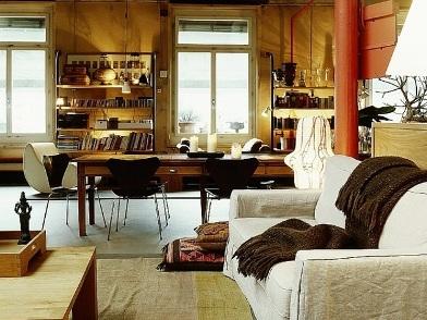 Дизайн интерьера в стиле ретро в доме