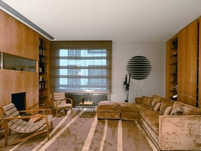 Дизайн интерьера в стиле ретро комнаты