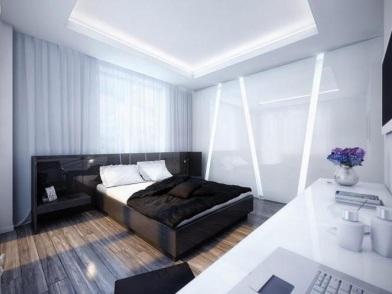 Дизайн интерьера в брежневке спальни