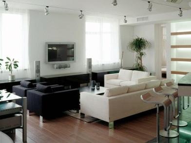 Дизайн интерьера в брежневке в холле