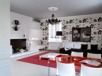 Дизайн интерьера в брежневке с камином