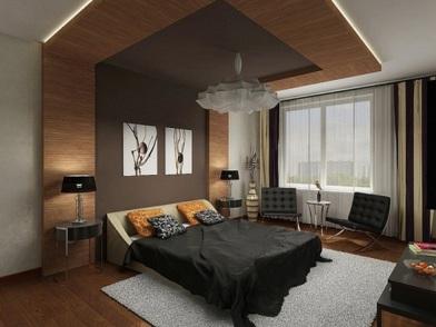 дизайн интерьера для молодого человека в спальне