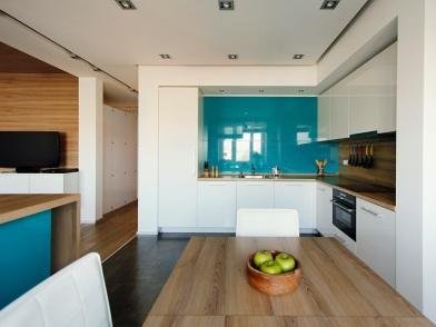 Минималистический дизайн интерьера кухни