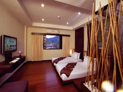 Бамбук в дизайне интерьера гостиницы