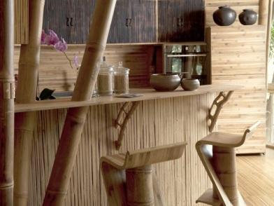 Бамбук в дизайне интерьера и декора