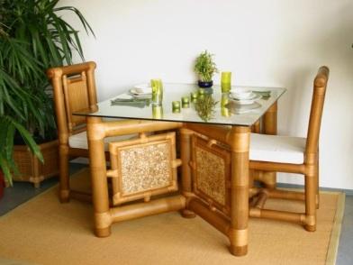 Бамбук в дизайне интерьера кафе