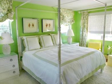 дизайн интерьера в зеленых тонах прованс