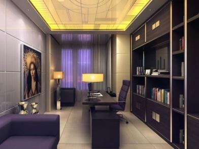 Дизайн интерьера кабинета в квартире в современном стиле
