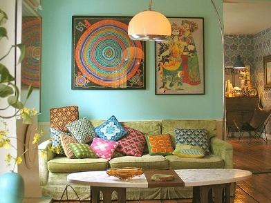 дизайн картин в интерьере квартир в индийском стиле