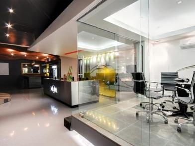 красивый дизайн интерьеров офисных помещений